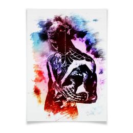 """Плакат 42x29.7(A3) """"Pop Art"""" - арт, человек паук, марвел"""