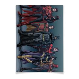 """Плакат A3(29.7x42) """"Batman / Бэтмен"""" - арт, comics, комиксы, batman, бэтмен"""