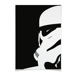 "Плакат A3(29.7x42) ""Штурмовик"" - star wars, звездные войны, stormtrooper, дарт вейдер, стар варс"