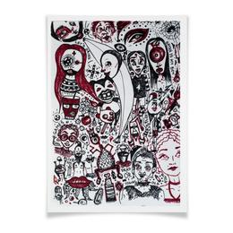 "Плакат A3(29.7x42) ""Abstract"" - арт, рисунок"