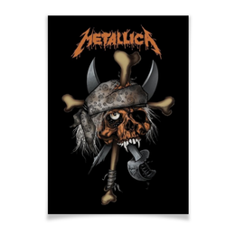 "Плакат A3(29.7x42) ""Metallica"" - heavy metal, metallica, рок музыка, металлика, thrash metal"