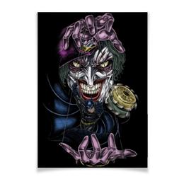 "Плакат A3(29.7x42) ""Joker & Batman"" - комиксы, batman, джокер, бэтмен, dc comics"