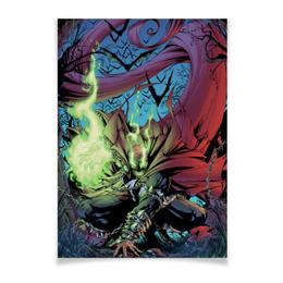 "Плакат A3(29.7x42) ""Спаун (Spawn)"" - комиксы, спаун, spawn, image comics"