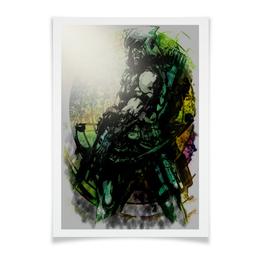 """Плакат A3(29.7x42) """"Pop Art"""" - арт, комиксы, dc, зеленая стрела"""