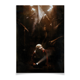 """Плакат A3(29.7x42) """"Сайлент Хилл"""" - страх, игра, кино, ужасы, silent hill"""