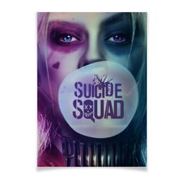 """Плакат A3(29.7x42) """"Харли Квинн"""" - harley quinn, dc comics, отряд самоубийц, suicide squad, марго робби"""