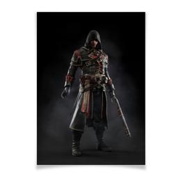 """Плакат A3(29.7x42) """"Assassins Creed (Rogue)"""" - игра, assassins creed, воин, rogue, изгой"""