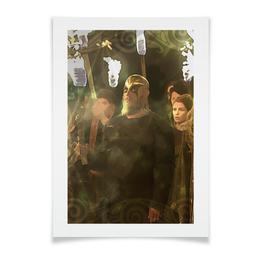 "Плакат A3(29.7x42) ""йоль фест"" - викинги, рагнар, рагнарлодброк"