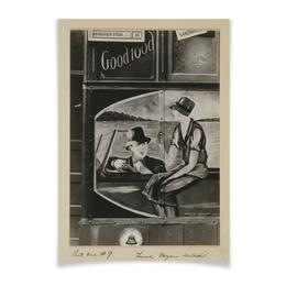 """Плакат A3(29.7x42) """"хорошая еда"""" - еда, ретро, рисунок"""