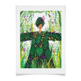 """Плакат A3(29.7x42) """"Состояние души. """" - природа, тропики, джунгли"""