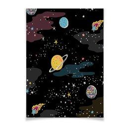 """Плакат A3(29.7x42) """"Космос. """" - космос, плакат, для дома"""