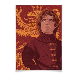 "Плакат A3(29.7x42) ""Игра Престолов: Тирион Ланнистер"" - игра престолов, game of thrones, тирион ланнистер, tyrion lannister, фэн-арт"