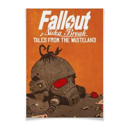 """Плакат A3(29.7x42) """"Fallout Nuka Break"""" - games, игры, fallout, убежище"""