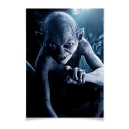 """Плакат A3(29.7x42) """"Голлум"""" - кино, властелин колец, хоббит, прелесть, фродо"""
