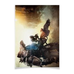 "Плакат A3(29.7x42) ""Titanfall"" - игры, titanfall"