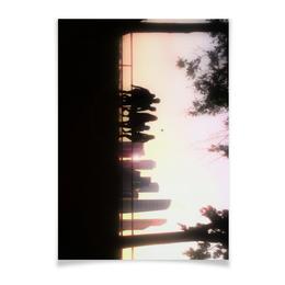 "Плакат A3(29.7x42) ""Young Dream"" - любовь, москва, солнце, люди, молодость"