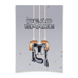 "Плакат A3(29.7x42) ""Dead Space"" - игры, шутер, dead space"