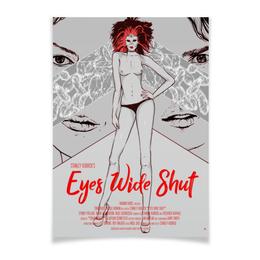 """Плакат A3(29.7x42) """"С широко закрытыми глазами / Eyes Wide Shut"""" - графика, кубрик, том круз, eyes wide shut, с широко закрытыми глазами"""