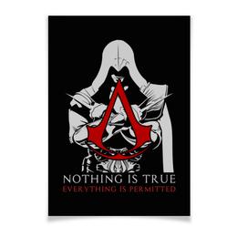 """Плакат A3(29.7x42) """"Assassin's Creed"""" - игры, assassins creed, assassin, ассасин, геймерские"""
