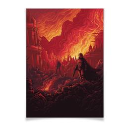 """Плакат A3(29.7x42) """"Звездные войны"""" - звездные войны, фантастика, кино, дарт вейдер, star wars"""
