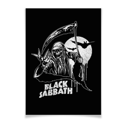 "Плакат A3(29.7x42) ""Black Sabbath"" - metal, рок, группы, black sabbath, ozzy osbourne"