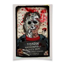"""Плакат A3(29.7x42) """"Art Horror"""" - blood, ужасы, evil, зло, маньяк"""