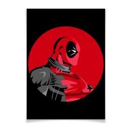 "Плакат A3(29.7x42) ""Дэдпул (Deadpool)"" - комиксы, deadpool, марвел, дэдпул"