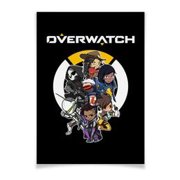 """Плакат A3(29.7x42) """"Overwatch"""" - компьютерные игры, геймерские, для геймеров, overwatch, овервотч"""
