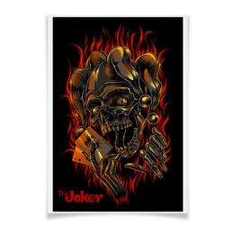 "Плакат A3(29.7x42) ""Joker"" - skull, череп, арт, joker, джокер"