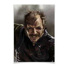 """Плакат A3(29.7x42) """"Викинги. Флоки."""" - викинг, викинги, vikings, путь воина, floki"""