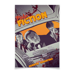 "Плакат A3(29.7x42) ""Криминальное чтиво / Pulp Fiction"" - криминальное чтиво, тарантино, квентин тарантино, постер, pulp fiction"