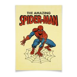 """Плакат A3(29.7x42) """"Человек-паук"""" - комиксы, супергерои, spider man, человек паук, spiderman"""