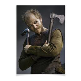 """Плакат A3(29.7x42) """"Флоки Кораблестроитель"""" - история, викинги, vikings, путь воина, флоки"""
