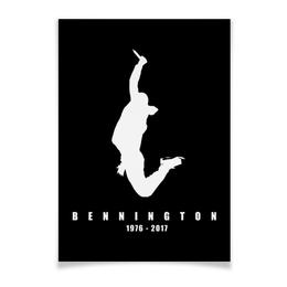 "Плакат A3(29.7x42) ""Chester Bennington"" - рок, linkin park, линкин парк, chester, честер"