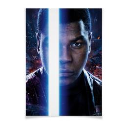 """Плакат A3(29.7x42) """"Звездные войны - Финн"""" - звездные войны, кино, фантастика, дарт вейдер, star wars"""