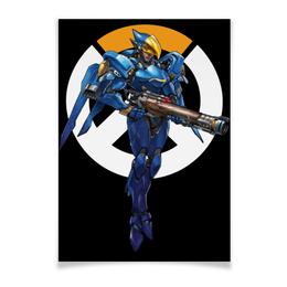"Плакат A3(29.7x42) ""Pharah Overwatch / Фарра Овервотч"" - игры, overwatch, овервотч, pharah, фарра"