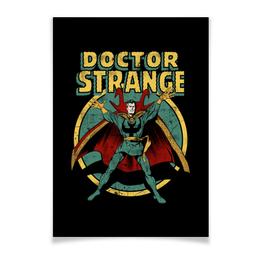 "Плакат A3(29.7x42) ""Доктор Стрэндж"" - комиксы, супегерои, доктор стрэндж, doctor strange"