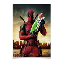 "Плакат A3(29.7x42) ""Deadpool"" - комиксы, супергерой, марвел, убийца, дэдпул"