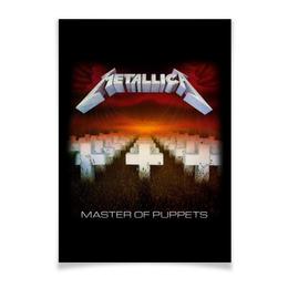 "Плакат A3(29.7x42) ""Metallica"" - heavy metal, metallica, металлика, хэви метал, thrash metal"