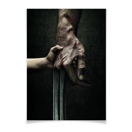 "Плакат A3(29.7x42) ""Логан"" - комиксы, росомаха, люди икс, marvel, марвел"