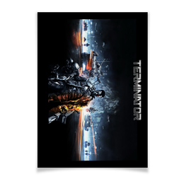 "Плакат A3(29.7x42) ""Terminator"" - кино, arnold schwarzenegger, терминатор, terminator, арнольд шварцнегер"
