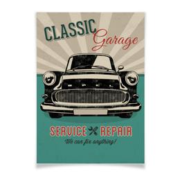 """Плакат A3(29.7x42) """"Ретро автомобиль OPEL"""" - автомобиль, опель, opel, ретро, винтаж"""