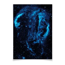 """Плакат A3(29.7x42) """"The Space"""" - космос, наука, прогресс, денис гесс, the spaceway"""
