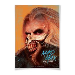 "Плакат A3(29.7x42) ""Безумный Макс"" - mad max, безумный макс"