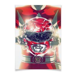 "Плакат A3(29.7x42) ""Power Rangers"" - могучие рейнджеры, пауэр рейнджерс"