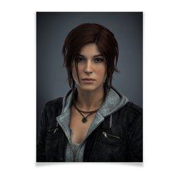 "Плакат A3(29.7x42) ""Tomb Raider"" - tomb raider, лара крофт"