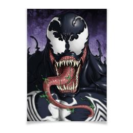 """Плакат A3(29.7x42) """"Веном (Venom)"""" - comics, комиксы, venom, марвел, веном"""
