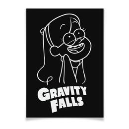 "Плакат A3(29.7x42) ""Мэйбл Пайнс"" - мультфильм, gravity falls, гравити фолз, мэйбл пайнс"