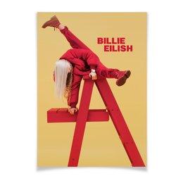 "Плакат A3(29.7x42) ""Billie Eilish"" - bad guy, billie eilish, билли айлиш, bellyache, when we all fall asleep where do we go"