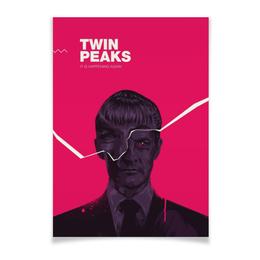 "Плакат A3(29.7x42) ""Твин Пикс / Twin Peaks"" - сериал, twin peaks, твин пикс, дэвид линч, линч"
